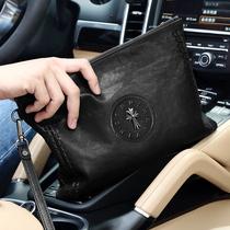 Первый слой воловьей кожи мужская сумка сцепление 2019 новый прилив мужской ручной сумки бизнес большой емкости из натуральной кожи мягкая кожа конверт сумка