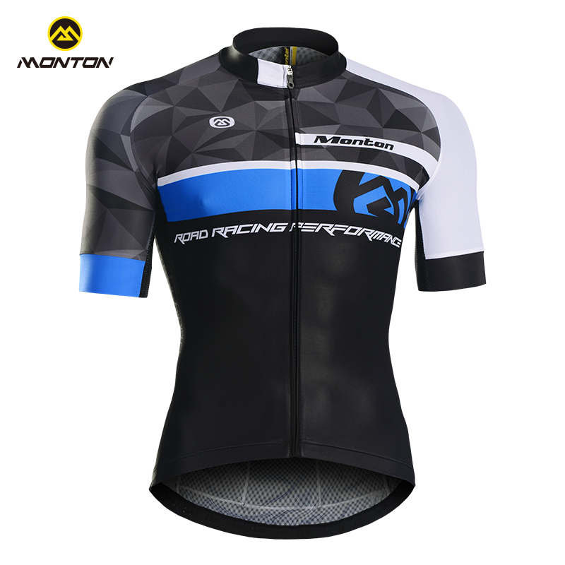 Monton Spring and Summer Mountain Bike Cycling Wear Short Sleeve Top with Breath and Sweat