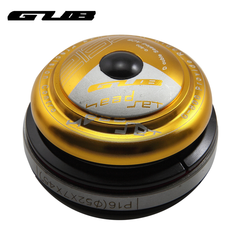GUB bowl set Conical head tube full concealed compatible with ordinary head tube front fork Mountain bike Palin type bowl set G-800