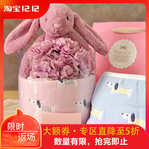 Dog Spring high-end baby cotton baby products Newborn gift box just born baby Hundred Days Full Moon gift