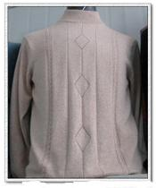 Tailor-made cashmere sweater substitute processing sweater woven cashmere line processing sweater cashmere sweater