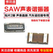 Sound meter resonator 3X7 crystal 3 x 7 automotive remote control NDR4208 NDR3208 433.92M 315M 2P