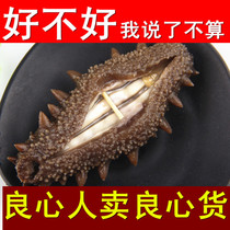 Longjin Sea cucumber Dry Goods wild pure dry sea cucumber 50g weihai ginseng sea seepage deep sea live sea cucumber dress Box