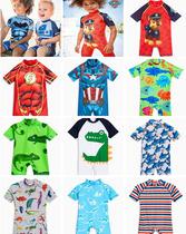 现货英国NEXT进口儿童泳衣小宝宝男童男孩游泳衣沙滩防晒连体泳装