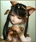 Doll EmpireSOOM Trond Kivi Deities of Cats 1/4 Egyptian cat