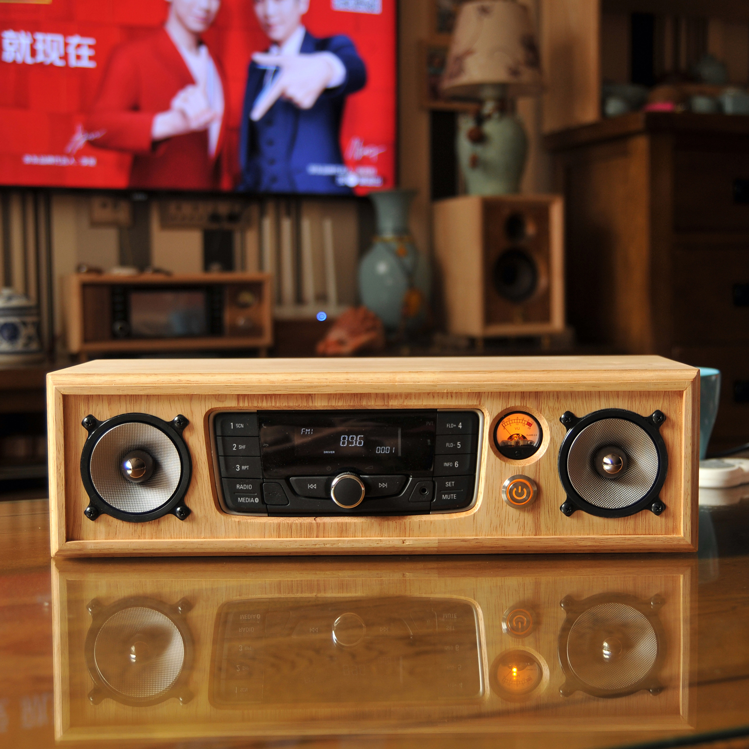 PW Buick Yinglang car Bluetooth voice-over plug-in machine to change the home audio rhythm version of all host shell