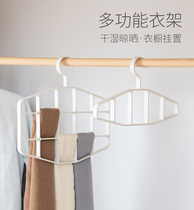 Tie rack multi-function collar led knot hanging rack silk scarf rack thickened household scarf belt rack to collect artifacts.