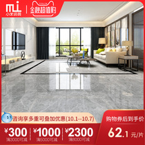 Tiles, grey, living marble, living room, antiskid floor tiles 800X800 modern Nordic floor tile DF86005