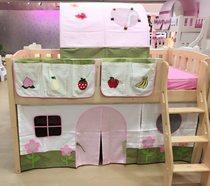 儿童床上帐篷 半高床围 彩色游戏帐篷 卡通彩色床围 床帏 花园