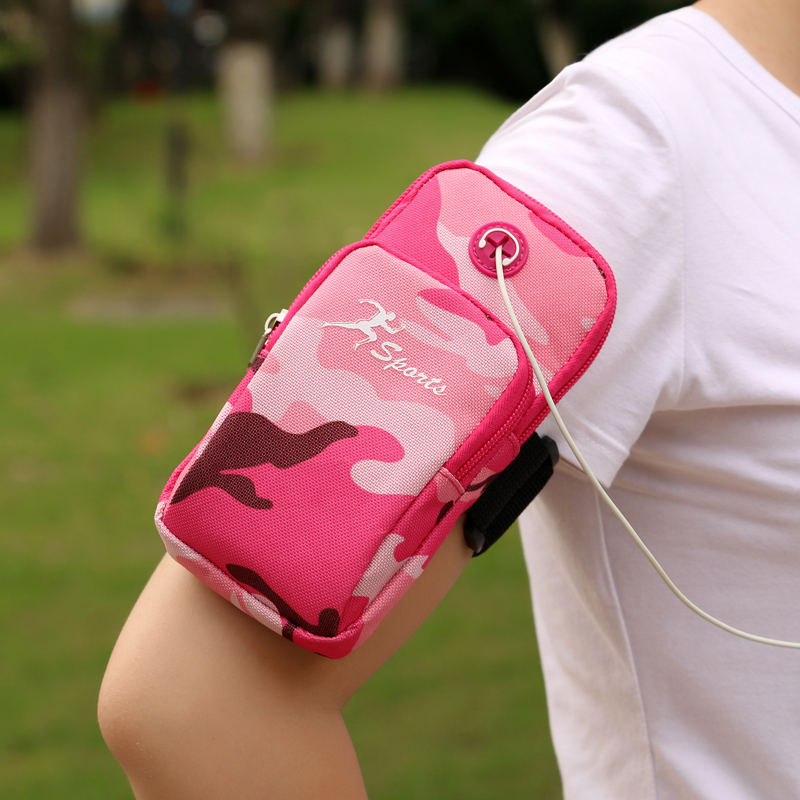 Mobile phone arm wrap, wrist bag, arm hanging bag for men and women's sports running wearing mobile phone wrap around arm and arm bag