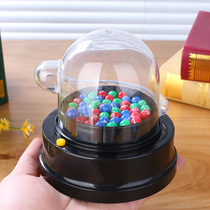 Hong Kong tri-color Ball Lottery Electric Shake award machine Big Lotto automatic rocker double ball draw childrens toys