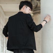Mens Korean version of the trend of self-cultivation handsome autumn sports baseball clothing