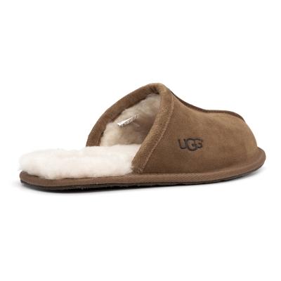 男士居家拖鞋包头羊毛保暖毛皮柔软舒适毛毛拖1101111
