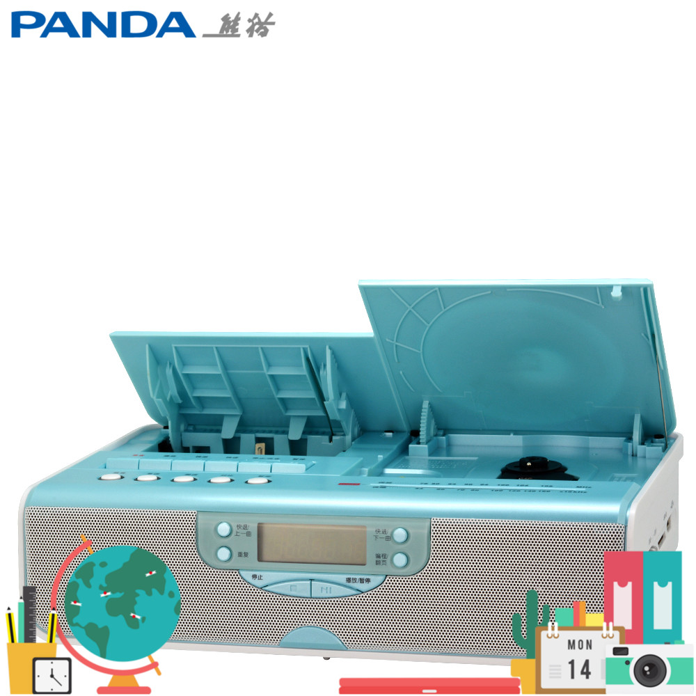 Panda CD-70 Tape Rereading Receiver USB Player CD Music CD-ROM Learning English Audio