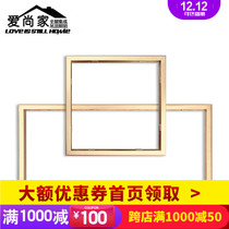 Integrated ceiling dark transfer frame traditional ordinary ceiling PVC gypsum board plank ceiling aluminum buckle transfer frame