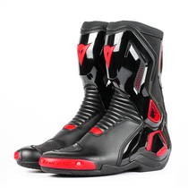 Denise COURSE Torque Motorcycle Racing titanium alloy anti-drop motorcycle boots male riding boots rally boots