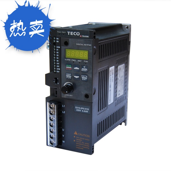 Simple S310-2P5-H1D TECO Dongyuan Tai'an Inverter Single-phase 220V 400W Inverter