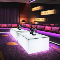 KTV luminous coffee table Bar scattered table Creative card table Net red nightclub box Rectangular wall bar table