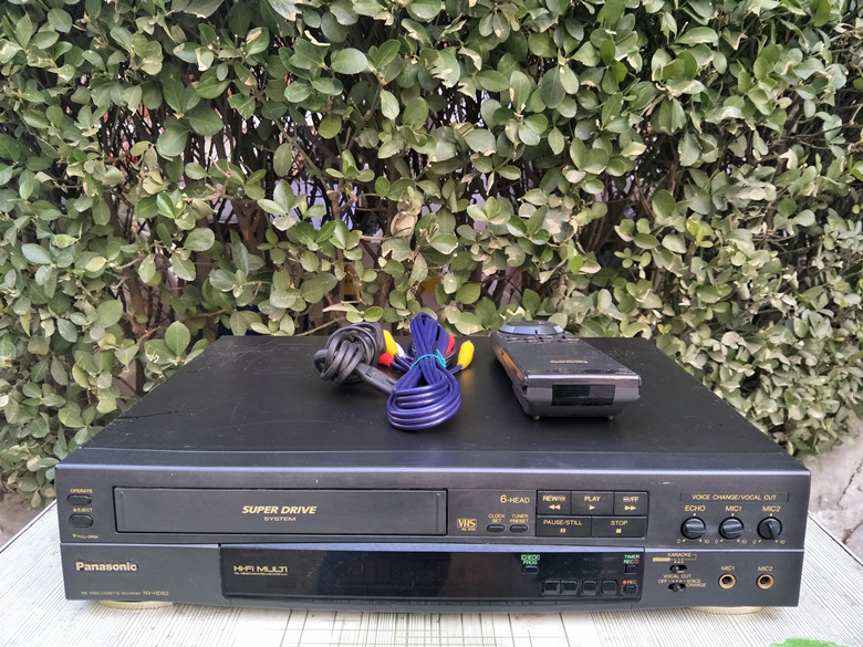 Special offer sale Panasonic NV-HD82 6 head recorder VHS recorder full-format stereo