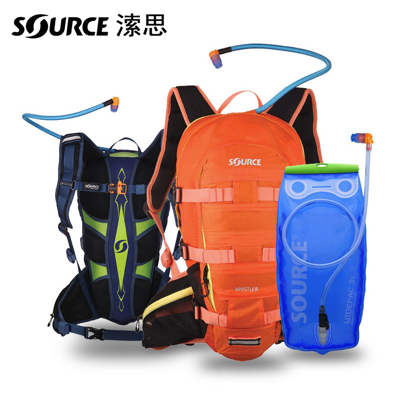 Israel origin source 溹思 off-road riding wind speed water bag backpack Mountaineering multi-user outer water bag