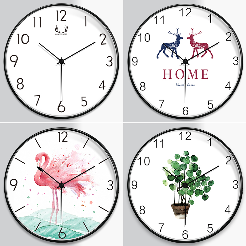 Creative Network Red ins Fashion Clock Wall Clock Lightweight and Luxurious Atmospheric Clock Watch in Living Room