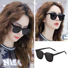 GM sunglasses, female ins glasses, male and Korean version of Hongjie Shot Short-sighted sunglasses, new type of driving anti-ultraviolet in 2019