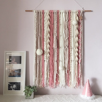 Bohemian Tapestry Handmade woven tapestry Nordic tapestry decorative homestay decoration fringed hanging