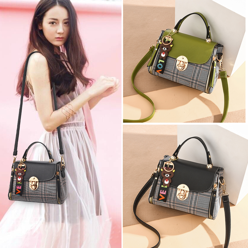 Women's Bag Slant Women's Bag Autumn and Winter New Style 2019 Korean Edition Fashion Baitao ins One Shoulder Atmospheric Four Seasons Popularity