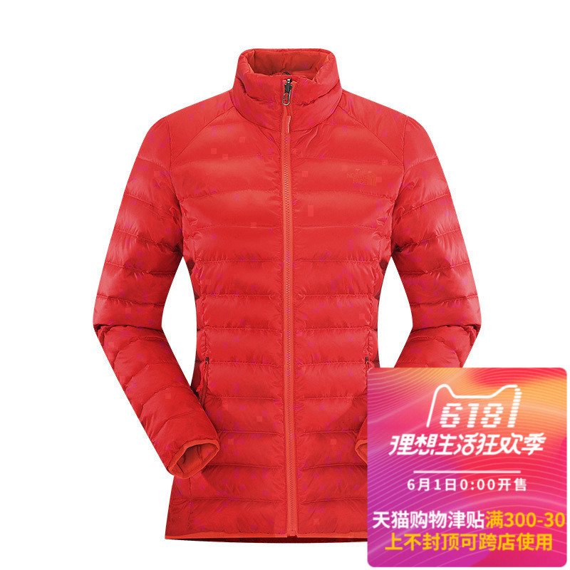 03568f728c 17 autumn and winter new TheNorthFace north down jacket female outdoor  lightweight warm jacket CTW1