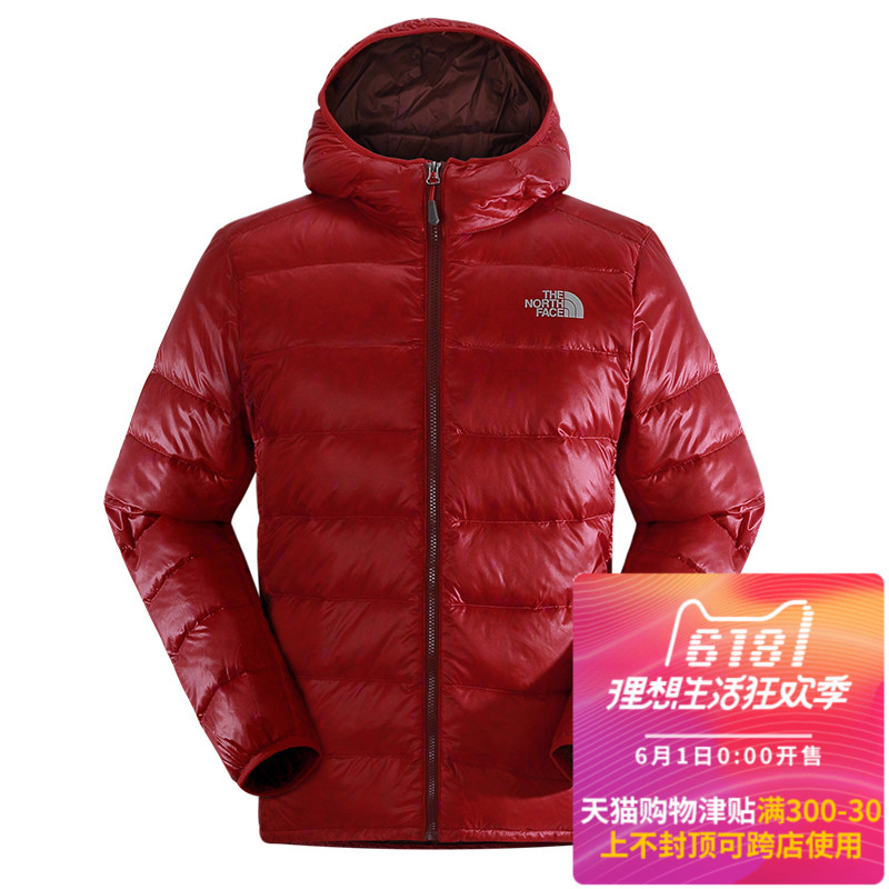[The goods stop production and no stock][Clearance] Autumn and Winter TheNorthFace North Down Jacket Men Outdoor Ultra Light 600 Peng CZ47