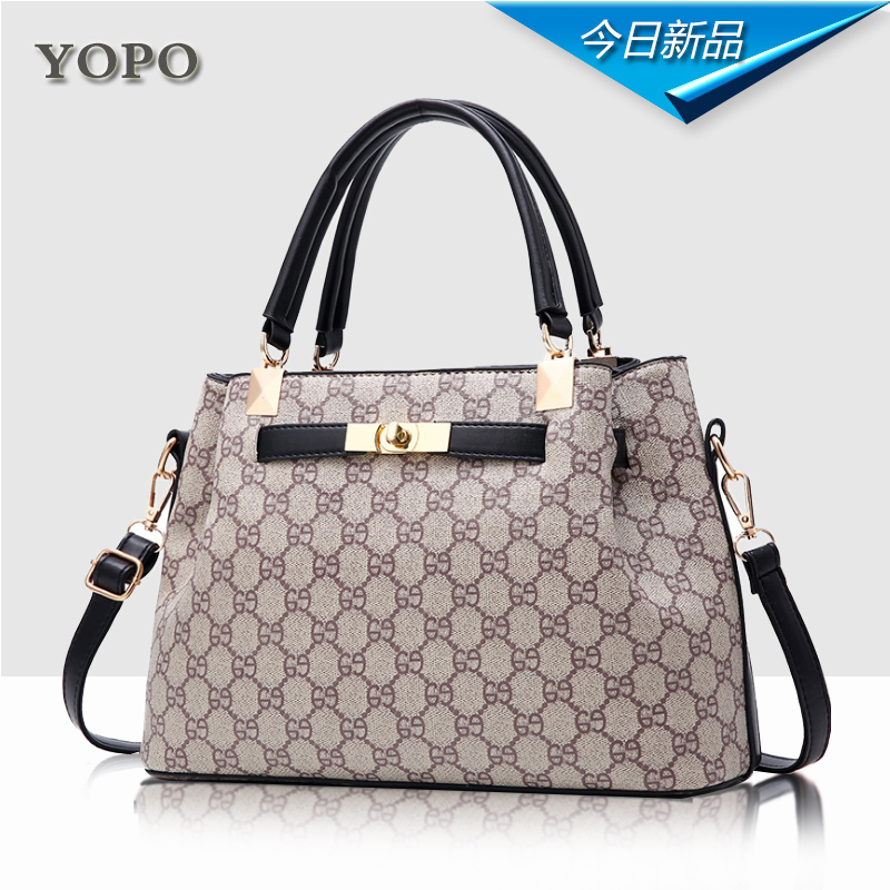 Mother bag female 2018 new female bag middle-aged wild atmosphere autumn and winter large-capacity shoulder bag lady bag