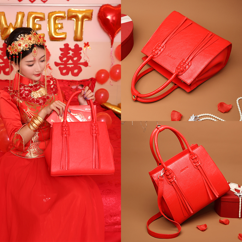 Red Bride Bag for Marriage in 2018