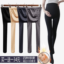 Pregnant women underpants underpants autumn and winter models託 belly pantyhose plus plus thick spring and autumn stockings wear pregnancy