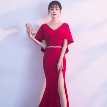 Winter Korean version of the fish tail sexy thin toast clothing