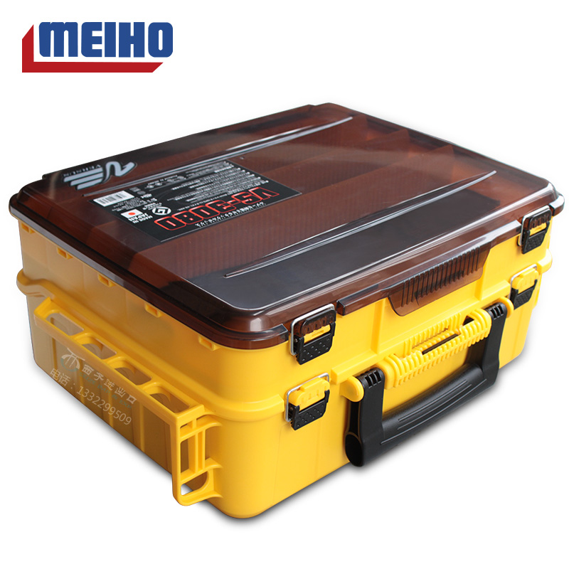 Japanese imported MEIHO Mingbang VS-3080 sub-box bait box boat fishing double-layer toolbox fishing toolbox