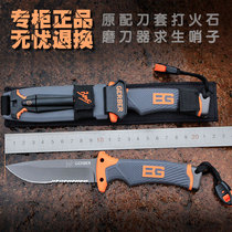 American Bell Knife Wilderness survival small straight knife outdoor anti-height hardness tool knife field knife folding knife