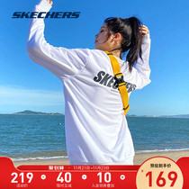 (Recommended by Via) Skechers Skech autumn winter couples sports long-sleeved round-necked sweatshirt