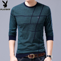 Playboy Thin Spring youth stripes leisure sweater