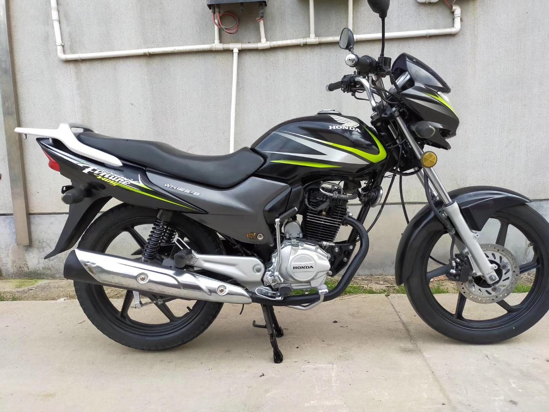 Second-hand new wing original Honda Jin Rui Jian Xinfeng Long 125CC mens cross-riding motorcycle vehicle