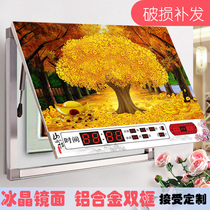 Perpetual calendar meter box decorative painting belt clock distribution box Power Box General switch shielding electric gate hydraulic box painting
