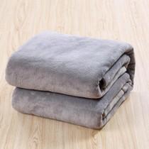 Blanket Thickened Coral Velvet Blanket Single Summer Flannel Air conditioning blanket Towel Blanket Double Nap Yoga blanket