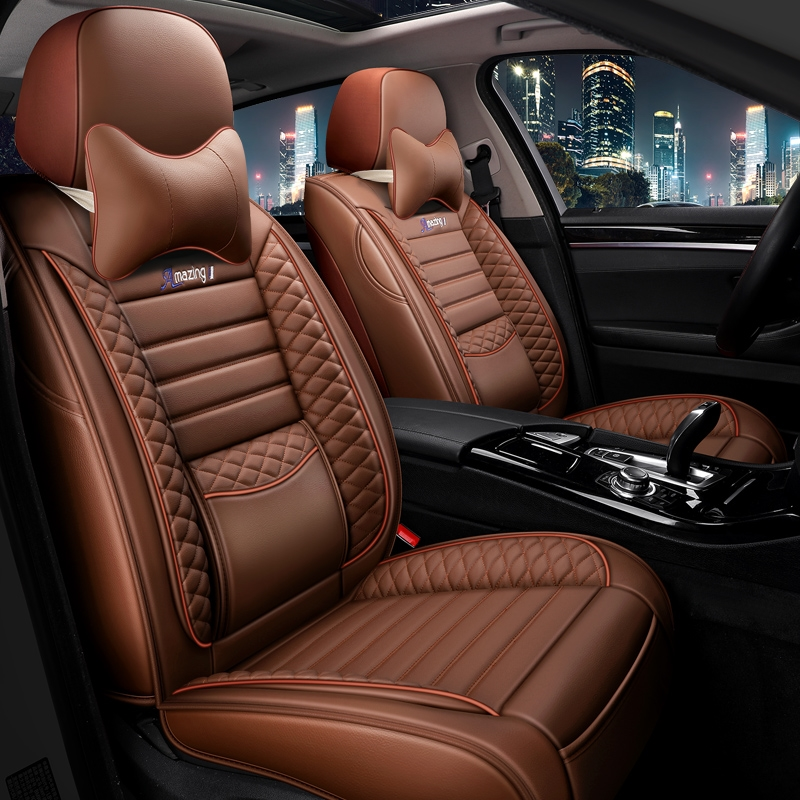 Car cushion four seasons gm all surrounded seat cover 20 new leather seat cover summer car ice wire mesh red seat cushion