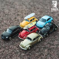 Simulation Volkswagen Beetle car Alloy car model pullback car Boy child toy car model car