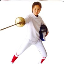Fencing clothing pants full set of children adult new thickening can participate in the 350n anti-stab fabric competition protection.