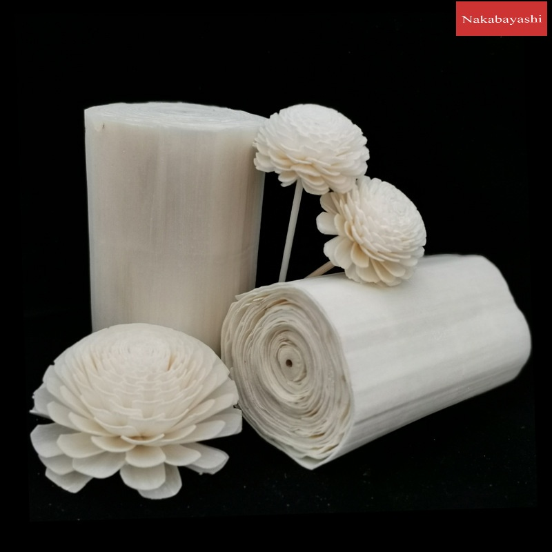2021) Through herb paper hand-through grass flower raw materials Sola flower DIY fragrance flower insert material