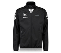Autumn Winter Installation McLaren wheel Honda racing suit F1 team jacket jacket Honda car work long sleeve customization