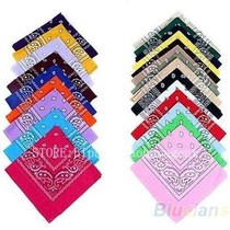 hip-hop bandanas for Male female men women head scarf Scar