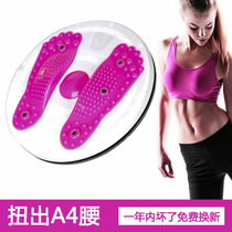 Twist waist plate household skinny waist jump thin fitness equipment female thickening belly waist multi-function dance twist waist machine