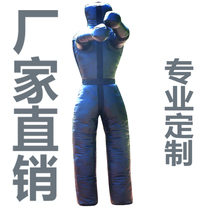 Free fight wrestling humanoid punching bag boxing martial arts Sanda MMA training factory direct sales can be customized