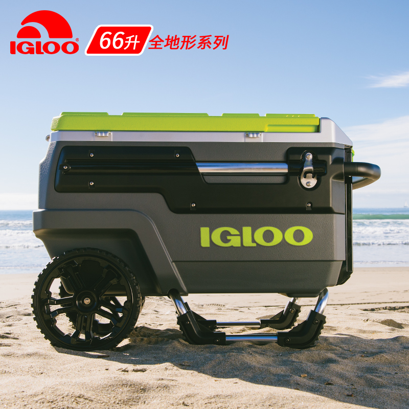 IGLOO Eagle 66L Portable Sea Fishing Box Insulation Box Outdoor Refrigeration Box Ultra-light Ice Bucket Fishing Box